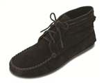 Minnetonka Men's Black Suede Chukka Boot
