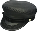 Henschel Hat - Leather Greek Fisherman