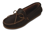 Men's Minnetonka Moccasins - Dark Brown Street Moc