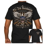 Men's Biker T-Shirts: 2nd Amendment Guns