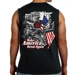 Bikers for Trump Shirts: Trumps Bitch Fell off Tank top