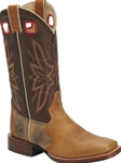 Mens Western Boots - Double-H Wide Square Toe Buckaroo
