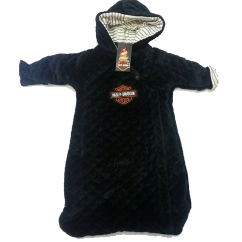 Harley Davidson Baby Clothes Warm Velour Pram Boys Jacket