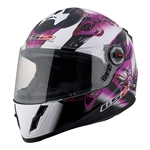 Youth Motorcycle Helmets - LS2 Girls Full Face