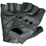 Leather Fingerless Motorcycle Gloves: First Classics