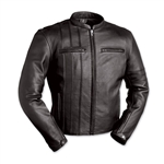 Mens Leather Motorcycle Jackets: Cafe Racer