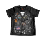 Childrens Motorcycle Jacket T-Shirt
