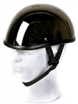 Novelty Motorcycle Helmet - Black Chrome Eagle