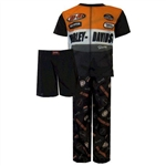 Kids Harley-Davidson Clothing - Boys Pajama Set