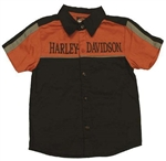 Harley-Davidson Kids Clothes - Boys Bike Shop Shirt