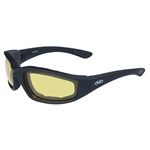 Yellow Lens Transitional Motorcycle Glasses