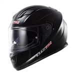LS2 Stream Black Full Face Motorcycle Helmet