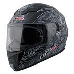 LS2 Stream Full Face Motorcycle Helmet: Anti-Hero