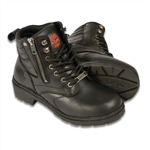 Ladies Milwaukee Leather Motorcycle Boots: Classic Biker