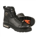 Milwaukee Leather Men's Motorcycle Boots: Waterproof