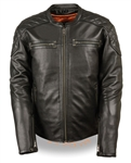 Milwaukee Leather Scooter Motorcycle Jacket