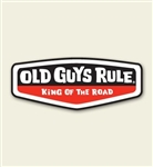 Old Guys Rule - Decal