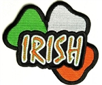 Irish Biker Patch