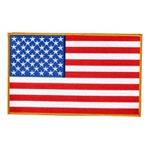 Large American Flag Biker Patches