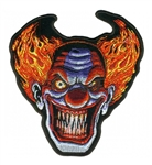 Angry Clown Biker Patches