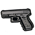Biker Pistol Biker Patch