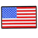 Reflective American Flag Biker Patch