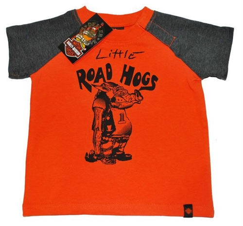 Harley Davidson Baby Clothes Graphic T Shirt Leather