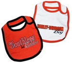 Harley-Davidson Baby Boy Bib and Burp Cloth Gift Set