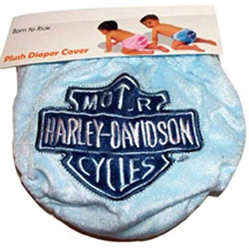 Harley Davidson Baby Clothes Diaper Cover Black Velour