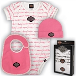 Harley-Davidson Baby Clothes - Girls Gift Set