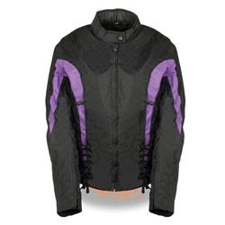 Lightweight Women S Motorcycle Jackets 15 Off Purple Amp Black
