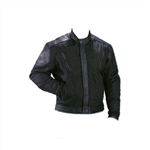 Kids Motorcycle Jacket: Textile & Leather