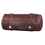 Unik Motorcycle Luggage - Soft Brown Leather Tool Bag