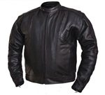 Big Tall Men's Motorcycle Jackets - Leather, Gun Pockets