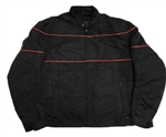 Men's Nylon Motorcycle Jacket - Body Armor