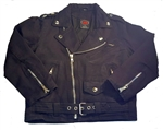 Denim Kids Motorcycle Jacket