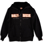 Girls Harley-Davidson Hoody Sweat Shirt - Genuine Freedom