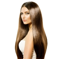12 Inch Straight Pre-Bonded Pure Keratin Flat Tip Hair Extensions