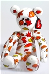 Autumn Beanie Baby Vapor Rig Water Pipe by Glass Hopper