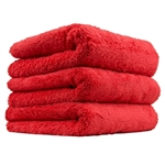 Red Extra Thick Happy Ending Edgeless Towel