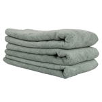 WORKHORSE XL GRAY PROFESSIONAL GRADE MICROFIBER 60cm X 40cm (3 PACK)