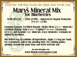 Mary's Mineral Mix for Plants