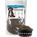 Raw Paws Grain-Free Turkey Recipe Kibble for Dogs, 8 lbs