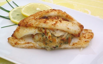 Stuffed Flounder - Today Gourmet Foods