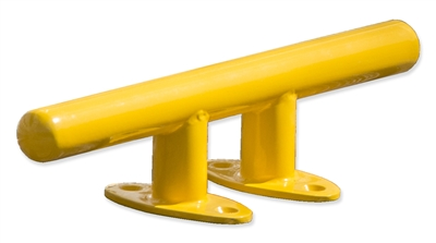 Color Powder Coated Stainless Steel Dock Cleat- 10""