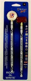 New York Yankees Pencil And Eraser Set
