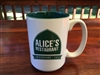 Alice's Green Ceramic Mug