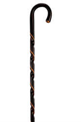 CHESTNUT HIKING STICK (HOOK HANDLE)