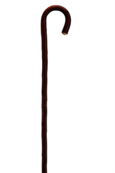 SOUR CHERRY TREE WALKING STICK (Round hook)