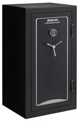Stack-On ArmorGuard 40 Guns Safe w/ Door Storage (Electronic Lock, Black)